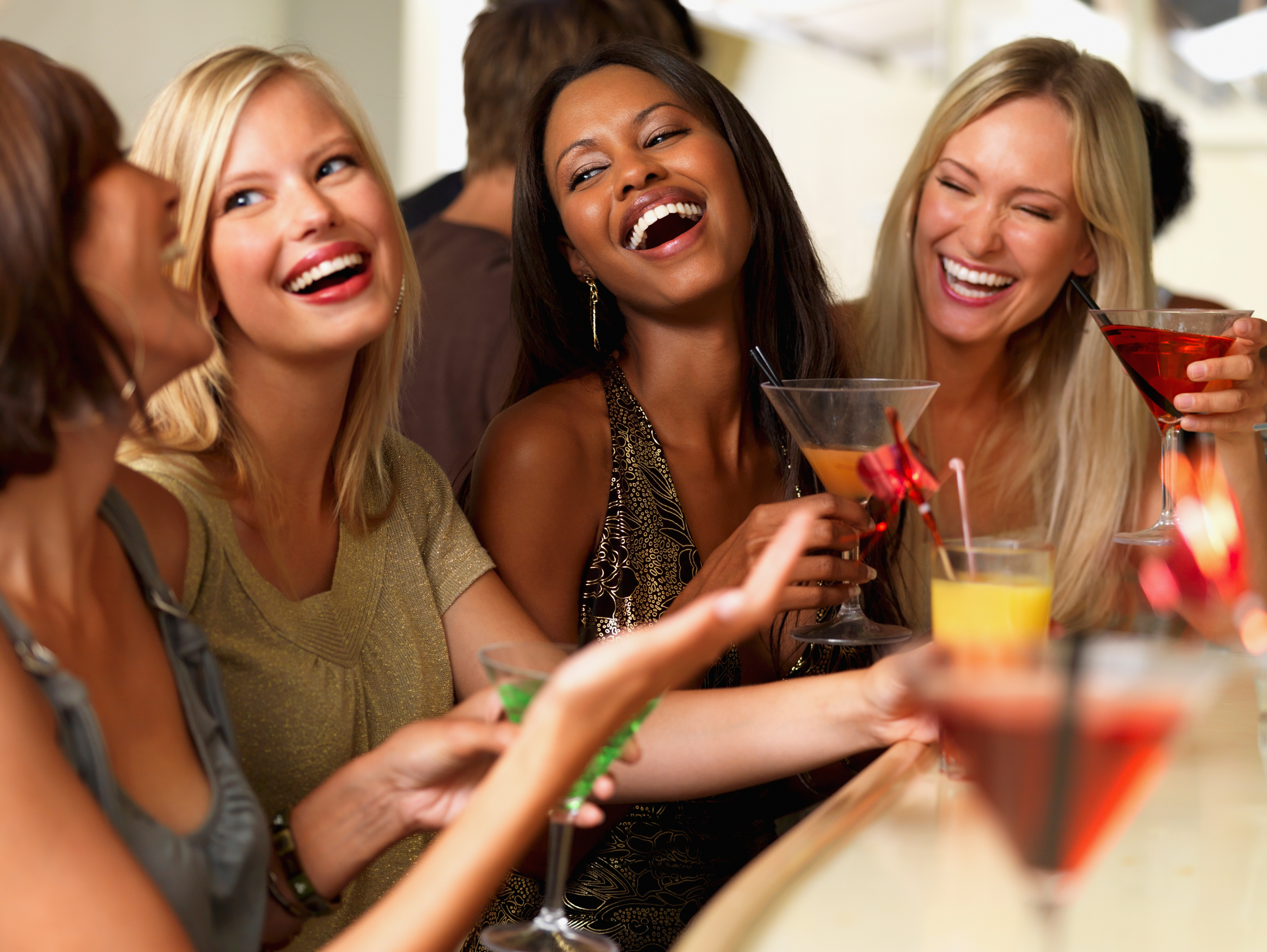 Party girls jpg young girl excited